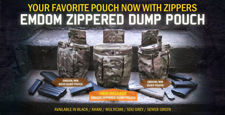 Emdom Zippered Dump Pouch