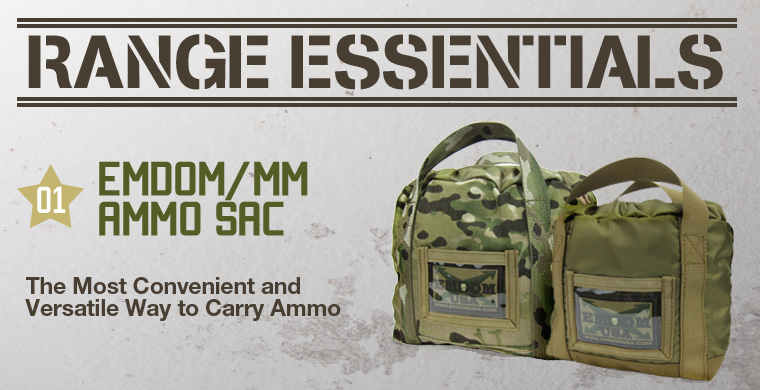 Range Essentials: 01 Emdom/MM Ammo Sac