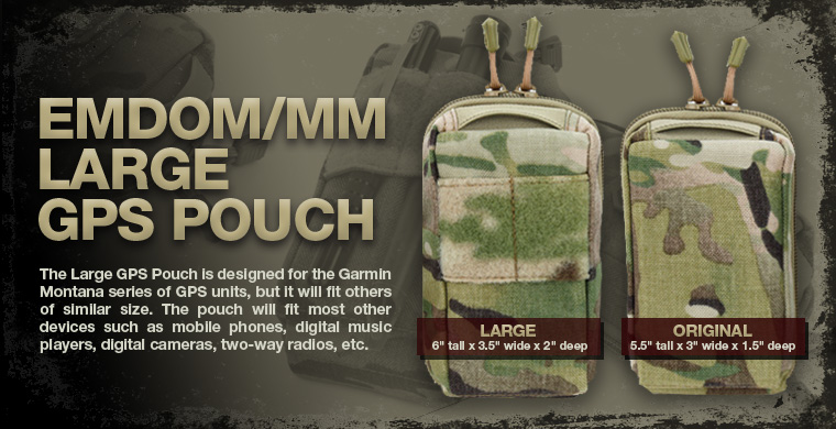 Emdom/MM Large GPS Pouch