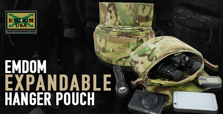 Emdom Expandable Hanger Pouch