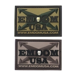 Emdom USA PVC Logo Patch